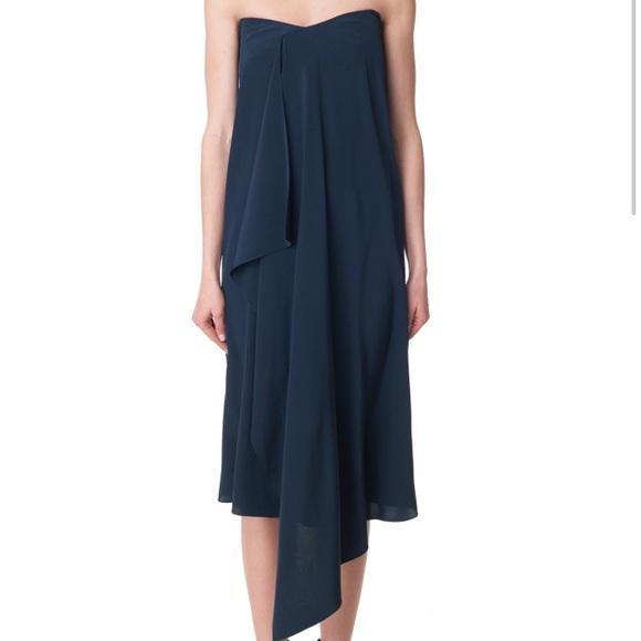 716935788481 Tibi Dresses | New York Strapless Towel Dress | Poshmark